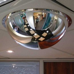 Securikey M18585H Interior Dome Convex Ceiling Mirror 60cm ceiling fixed