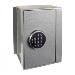 Churchill Magpie M4 wall safe with a Digital Lock Option with door closed