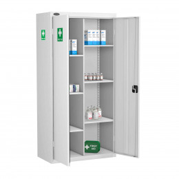 Probe MED-S 8 Compartment Steel Medical Storage Cabinet
