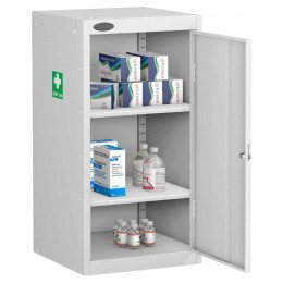 Probe MED-U Small Steel Medical Supplies Storage Cabinet