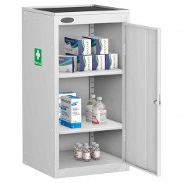 Probe MED-UD Medical Small Steel Cabinet with Dished Top