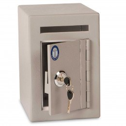 Burton Mini Teller Day Deposit Safe door ajar