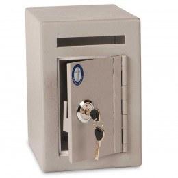 Burton Mini Teller Day Deposit Safe door ajar