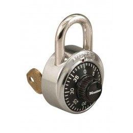 MasterLock 1525 Locker Padlock Key Controlled Combination