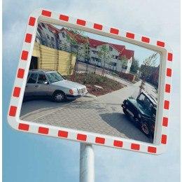 Traffic Safety Mirror Convex 80x100cm - View-Minder 3