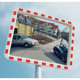 Traffic Safety Mirror Convex 40x60cm - View-Minder 1