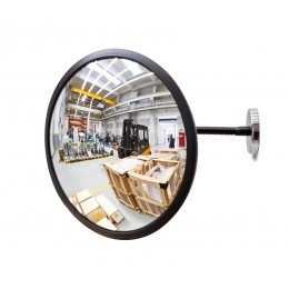 Portable Magnetic Fixed Convex Blindspot Mirror - Detective-X 30cm