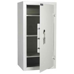 Dudley Multi Purpose Large Key Locking Security Storage Cabinet Size 4 - door ajar
