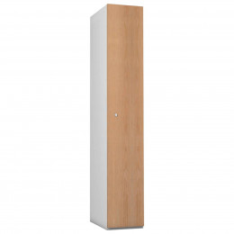 Probe 1 Door Oak TimberBox MDF Woodgrain Door Steel Locker
