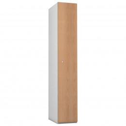1 Door Steel Locker - Woodgrain MDF- Probe Timberbox