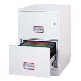 Phoenix Vertical Firefile FS2252K 2-Dr Key Lock Filing Cabinet