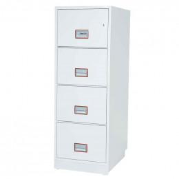 Phoenix Vertical Firefile FS2254K 4-Dr Key Lock Filing Cabinet