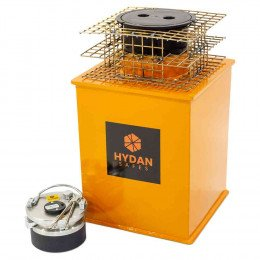 "Hydan Platinum Size 3 £35,000 Rated 15"" Round Door Floor Safe - Key Lock"