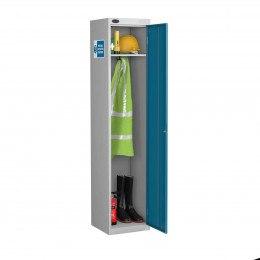 Probe PPE-M Slim PPE 1 Door Steel Storage Cabinet - door open