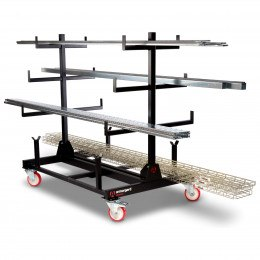 Collapsible Pipe Trolley Rack - Armorgard PIPERACK PR1