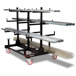 Collapsible Pipe Trolley Rack - Armorgard Piperack PR2