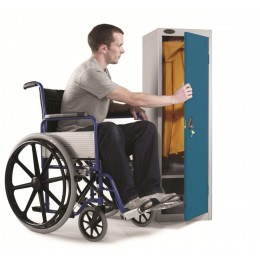 Probe Wheelchair User Disability Locker 1300x380x460 Key Lock