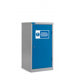 Small PPE Steel Storage Cabinet Dished Top - Probe