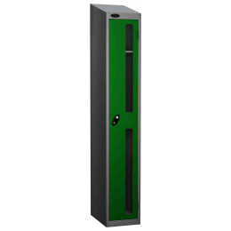 Probe Vision Panel 1 Door Electronic Stock Theft Locker green