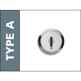 Probe Type A Replacement Key Lock for Probe Lockers with keys