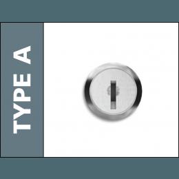 Probe Locker Type A Key Lock with 2 Keys