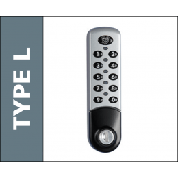 Type L Reprogrammable Electronic Lock - Probe