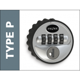 Type P Reprogrammable 4 Digit Combination Lock - Probe