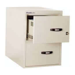 Chubbsafes Profile 25 NT 60 Fire Filling Cabinet 2 Drawer  open