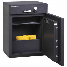 Chubbsafes ProGuard DT110 Eurograde 1 Cash Deposit Safe - Main door open