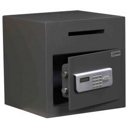 De Raat Protector DS Deposit 1E Electronic Letter Slot Drop Safe - door ajar
