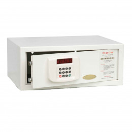 De Raat Protector LTP Guest Hotel Multi-User Laptop Safe - Door Ajar