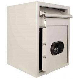 De Raat MP2E £2000 Cash Day Deposit Security Safe - open