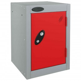 Probe 1 Door Quarto Combination Locking Modular Locker red