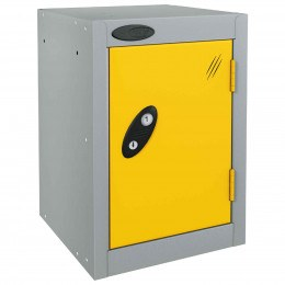 Probe 1 Door Quarto Electronic Locking Modular Locker yellow