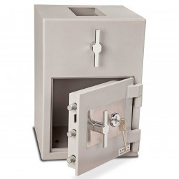 Burton Teller R51 Rotary Top Deposit Safe door open
