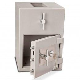 Burton Teller R51 Rotary Top Deposit Safe door open