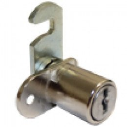 Ronis 32300-02 Tambour Cam Lock Hooked Cam with 2 keys