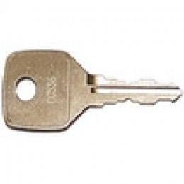 Replacement Key for Ronis CC Series Locks - Key Series CC0001-CC2000