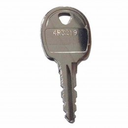 Elite Locker Replacement Key for CC TK 4R and 5 Digit Locks