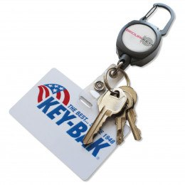 Keybak RSK Kevlar Cord Retractable ID Badge/Swipe Holder