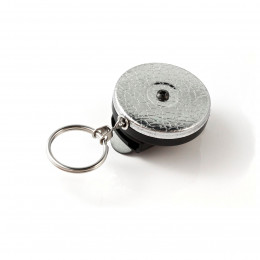 Keybak RSP Spinner Spring Clip Key Reel 60cm Steel Chain