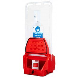 Armorgard Sanistation S20 Mobile Hand Sanitiser Station
