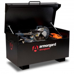 Armorgard Strongbank SB2 open and in use