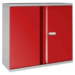Phoenix SCL0891GRE 2 Door Red Electronic Steel Storage Cupboard