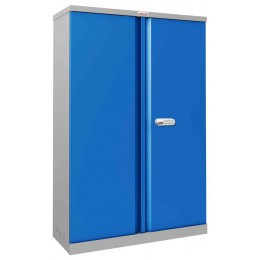 Phoenix SCL1491GBE Flat Packed Blue Cupboard | Electronic