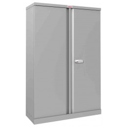 Phoenix SCL1491GGE Flat Packed Grey Cupboard | Electronic