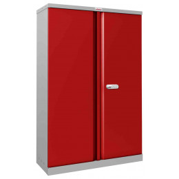Phoenix SCL1491GRE Flat Packed Red Cupboard | Electronic