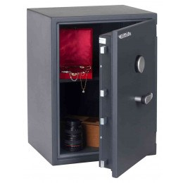 Chubbsafes Senator G1-M3K Grade 1 Key Lock Fire Security Safe - door ajar