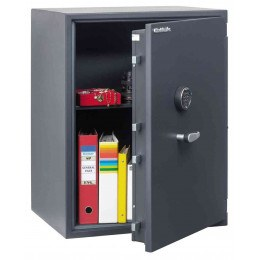 Chubbsafes Senator G1-M4E Eurograde 1 Electronic Fire Security Safe - door ajar