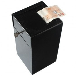 Protector For 30 with note being deposited